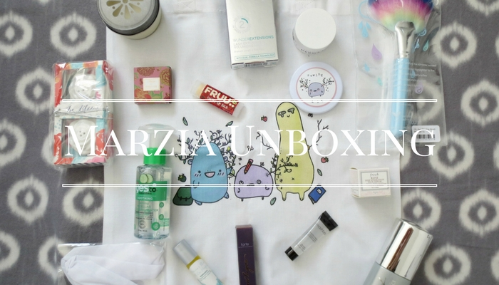 Marzia's Floral Box Unboxing