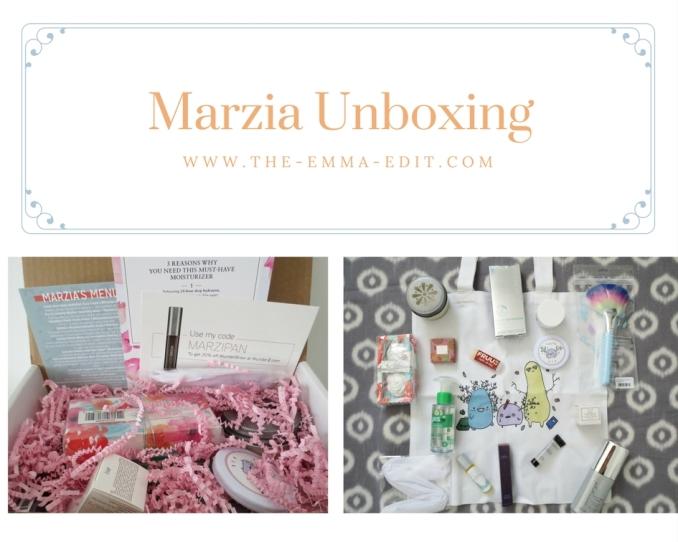Marzia Unboxing