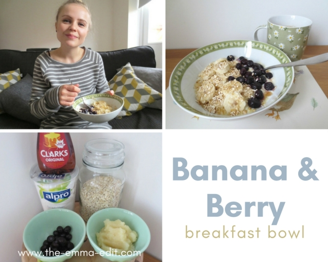 Banana &Berry Breakfast Bowl