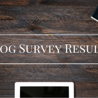 Blog Survey Results