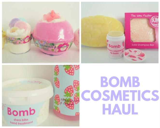Bomb Cosmetics Haul