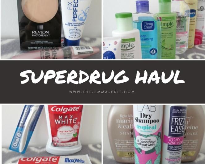 Superdrug haul.jpg