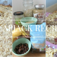 Nutty Banana Flapjack Recipe