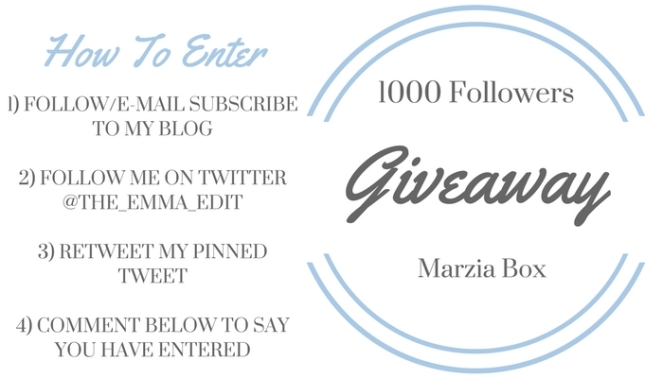 Giveaway Marzia2