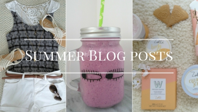 Summer Blog Posts