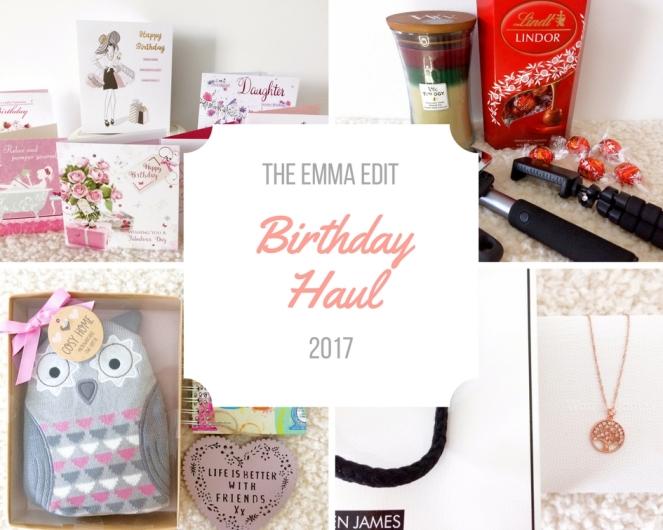 Birthday Haul 2017 (1)