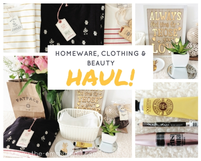 Homeware, Clothing & Beauty Haul.jpg