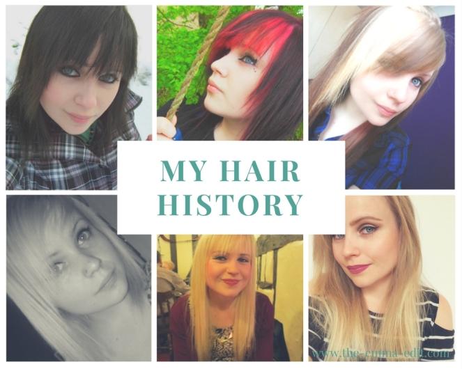 My hair History