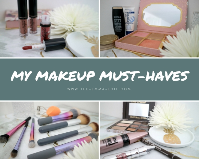 My Makeup Must0haves