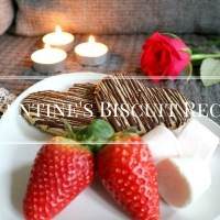 Valentine's Oaty Chocolate Biscuit Recipe